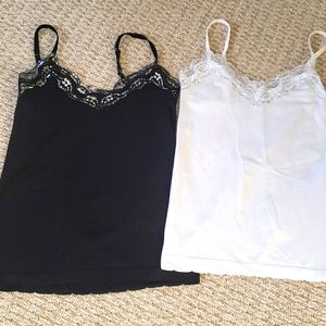 Stretchy bundle of 2 tanktops